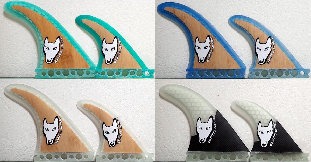 Bamboo Flex Rake Surf Fins