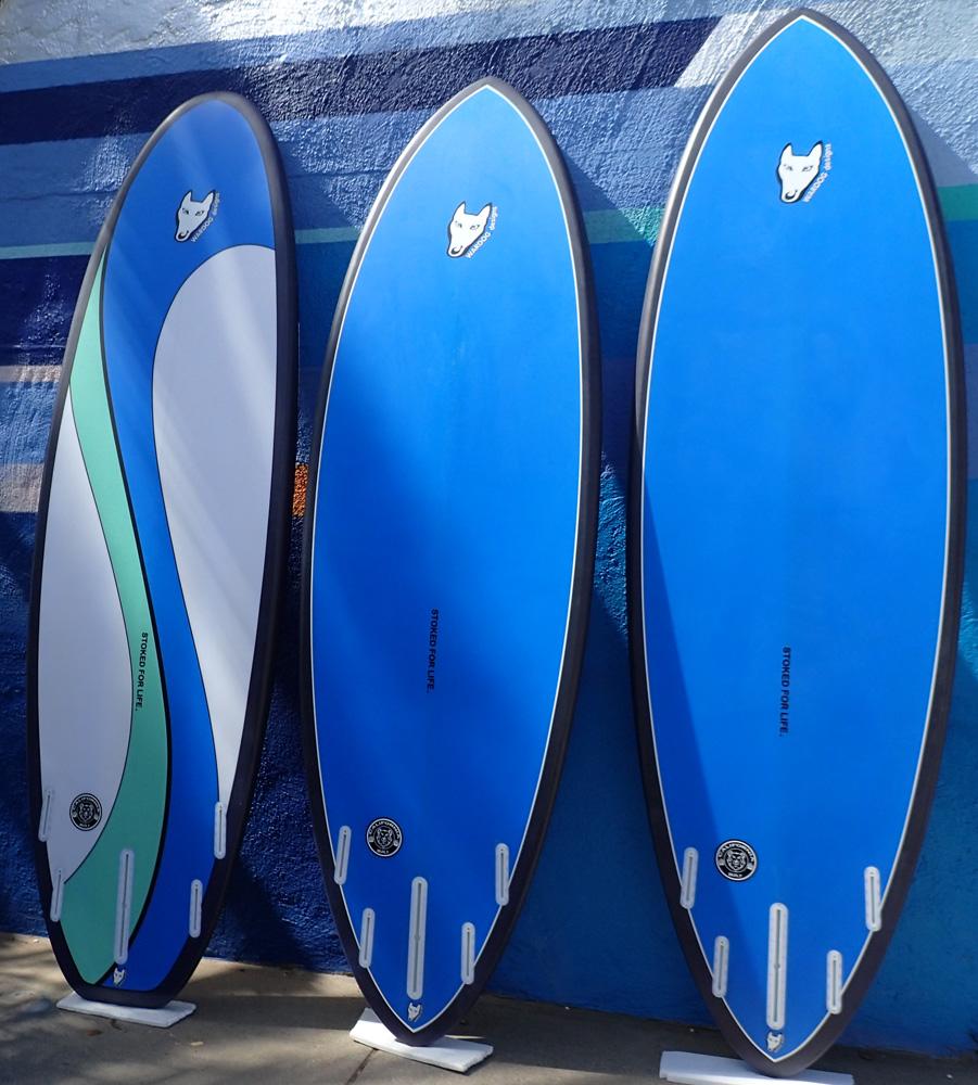 Blue SUPs