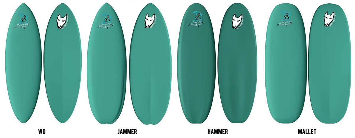 Wardog SUP designs