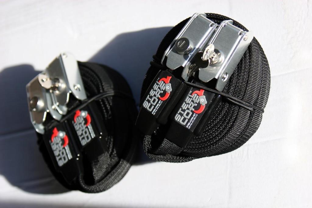Steelcore locking board strap
