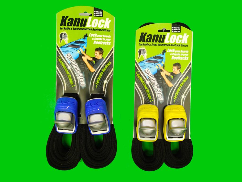 Kanulock locking board strap