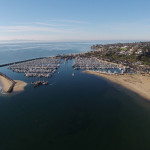 sups ron drone harbor1 150x150 Winter in Santa Barbara