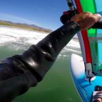 Big Sur windsurfing