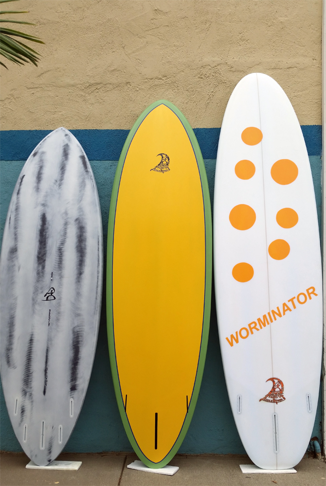 Custom paddle boards