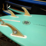 Bamboo SUP fins