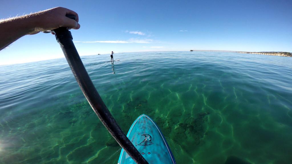 California SUP Coastal Cruising