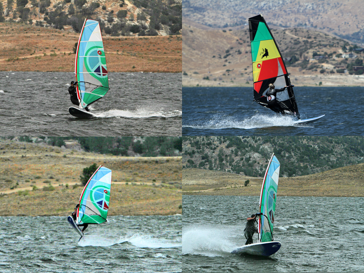 Lake Isabella windsurfing