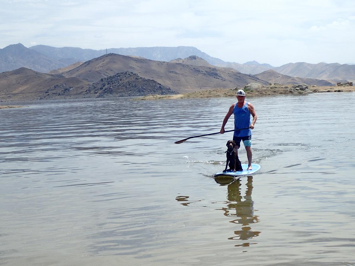 SUP Lake Isabella