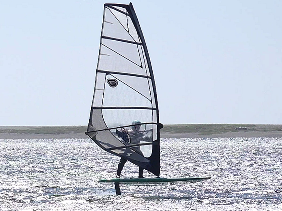 Oregon Wind Foiling