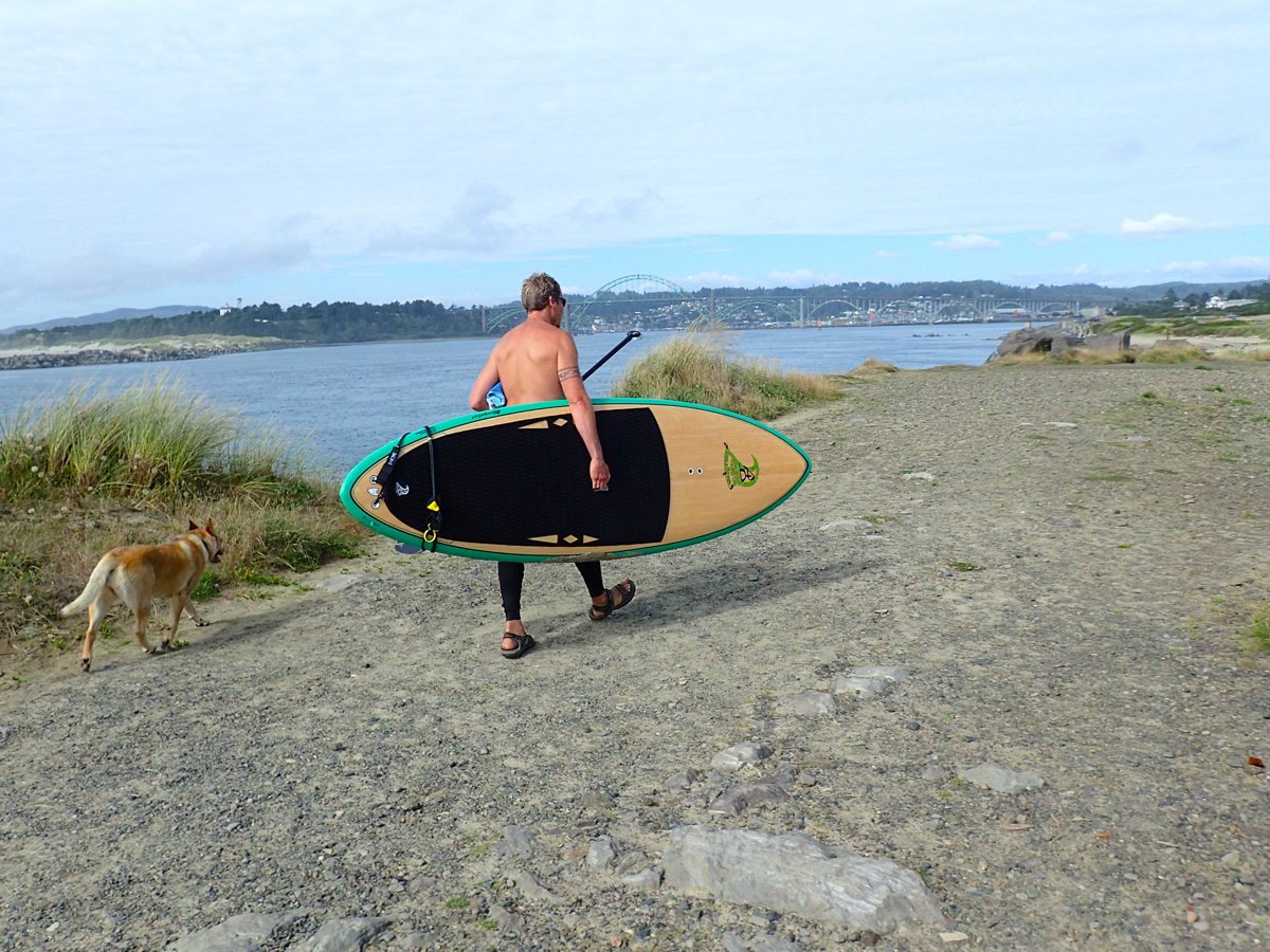 Yaquina Bay SUP