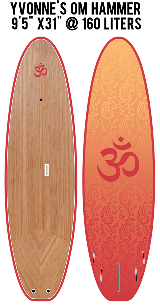 Custom SUP boards