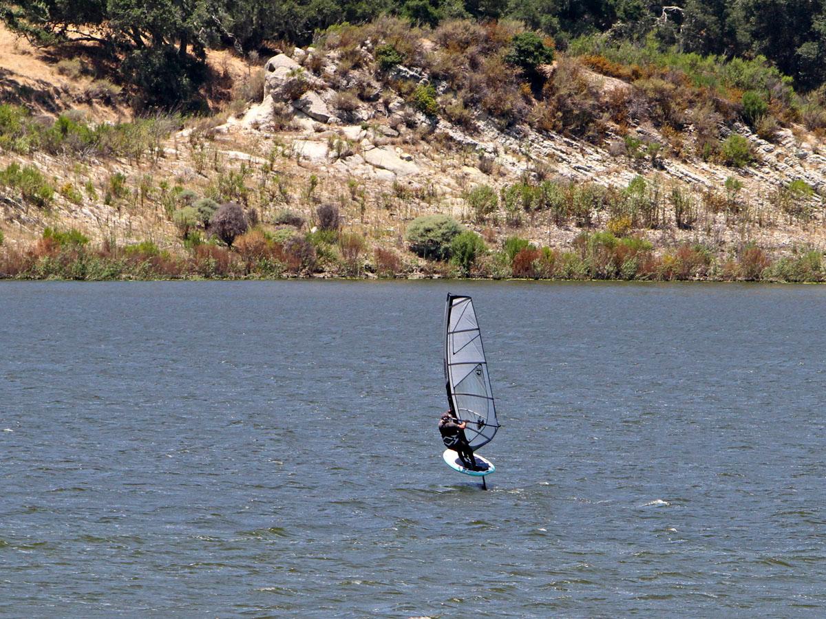 Foiling Lopez Lake